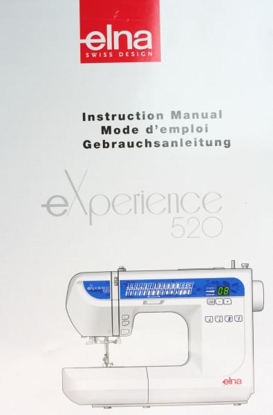 Gebrauchsanleitung für Elna experience 520
