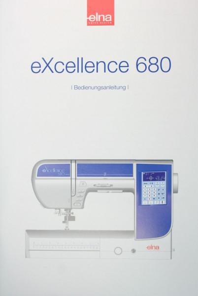 Bedienungsanleitung Elna 680 eXcellence