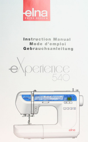 Gebrauchsanweisung Elna 540eXperience